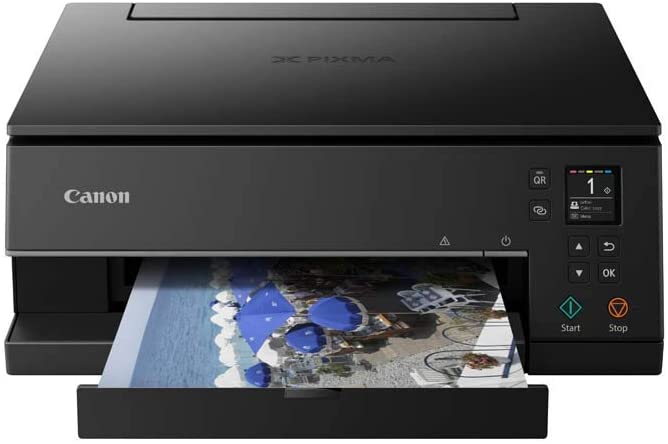 Impresora Multifuncional Canon PIXMA TS6350 Negra Wifi de inyección de tinta