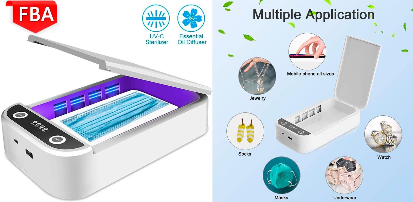 Desinfectador ultravioleta