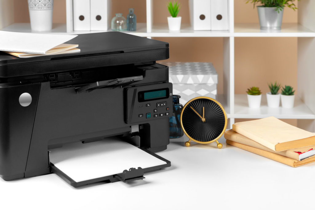 Impresora para imprimir en casa