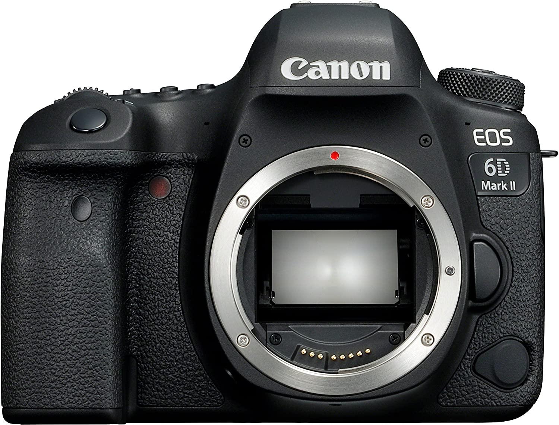Canon 6D mark ii precio más bajo en Amazon
